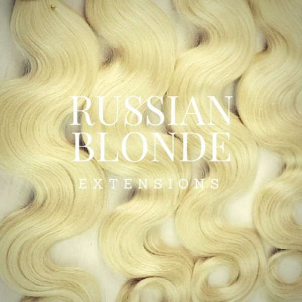 Russian Blond Hair Weave